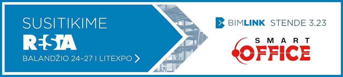BIM matavimams | BIMLINK stendo dalyvis SmartOffice UAB